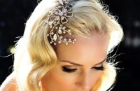 25 Gilded Wedding Hair Accessories | OneWed