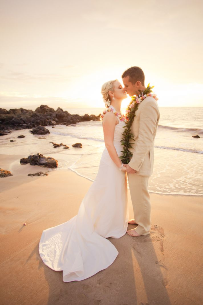 Exotic Beach Wedding in Maui