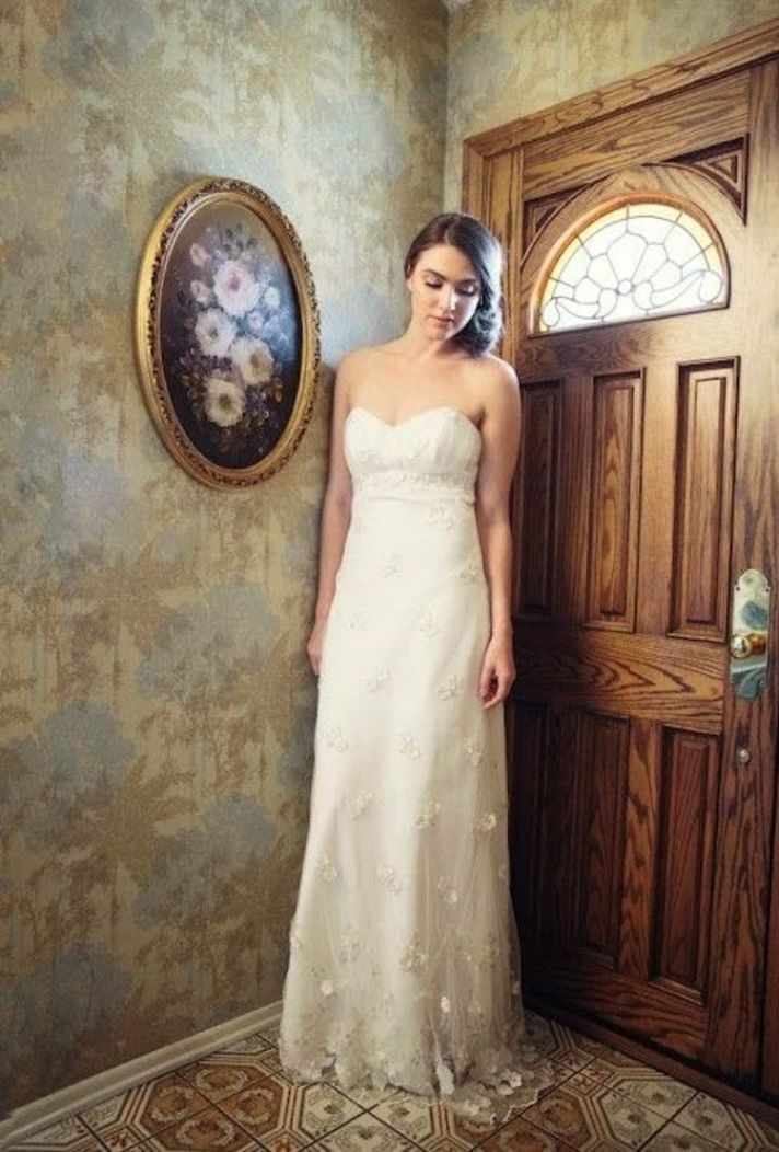 Julia Lace Bridal Dress by Marisol Aparicio