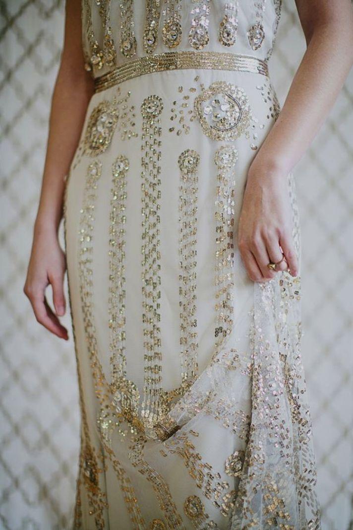 Detailed Wedding Dress