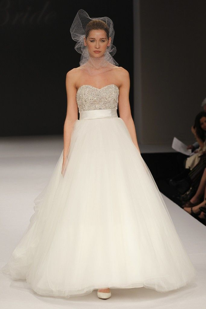 Spring 2012 Wedding Dresses by Badgley Mischka  OneWed