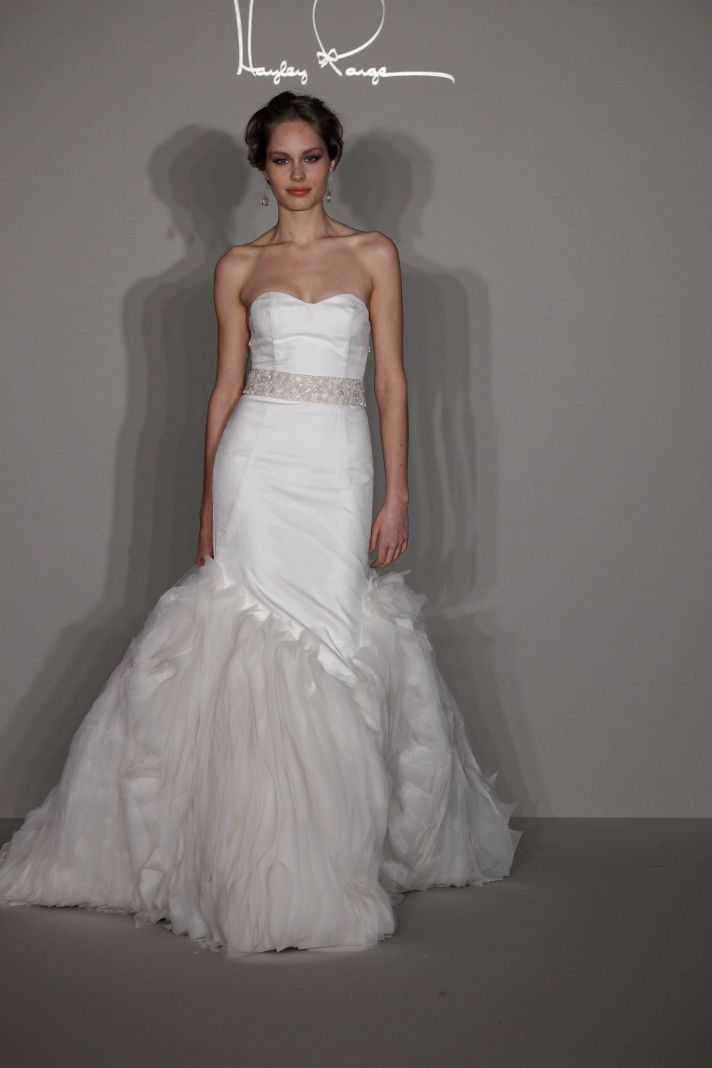 See Hayley Paiges Debut Wedding Dress Collection