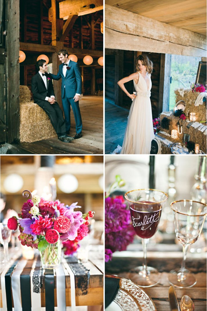 Rustic Luxe Wedding Inspiration
