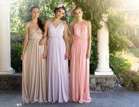 Bridesmaids Dresses Fit For Grecian Goddesses - crazyforus