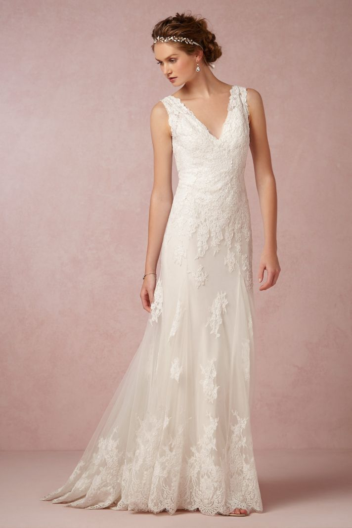 Cant Get Enough of these Beautiful BHLDN Wedding Dresses  OneWed