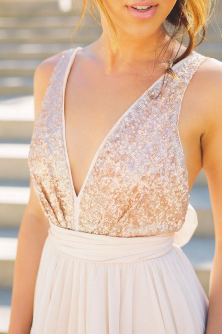 Wedding Dress With Shimmery