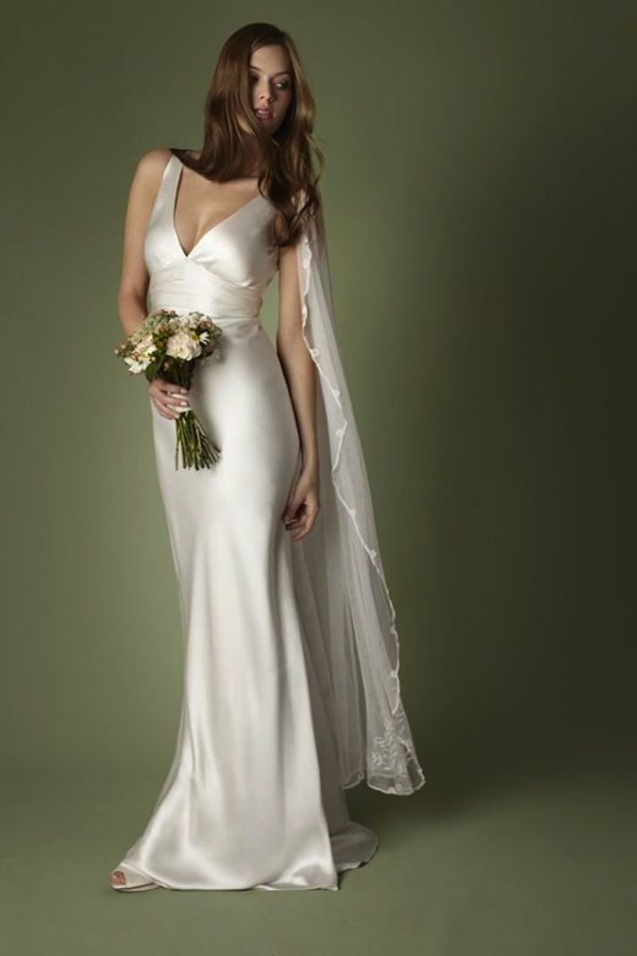 Sleek Wedding Dresses