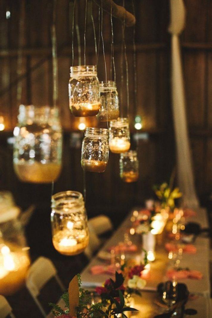 Wedding Decor Ideas Featuring The Beloved Mason Jar  crazyforus