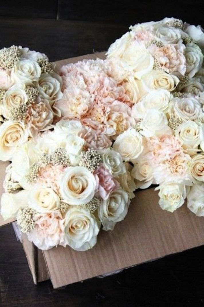 Blush and Gold Wedding Bouquet