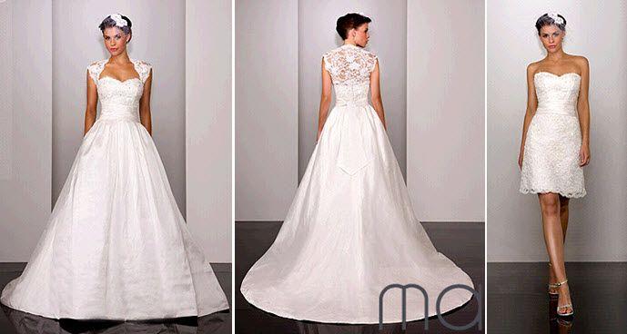 2 In 1 Wedding Gown Help