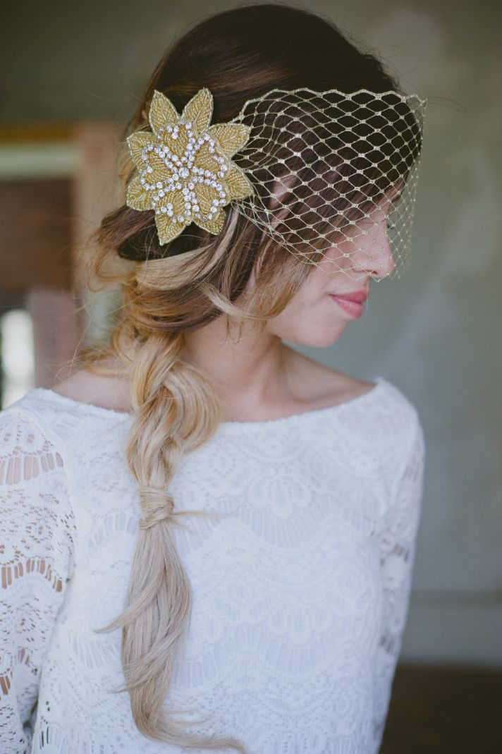 Exquisite Wedding Hair Accessories And Bridal Veils By