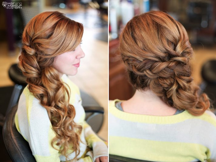 Bridal Hairstyles For Long Hair With Braids Fusion Hair