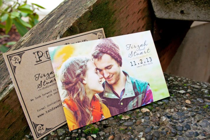 30 of the Best Wedding Save the Dates Around