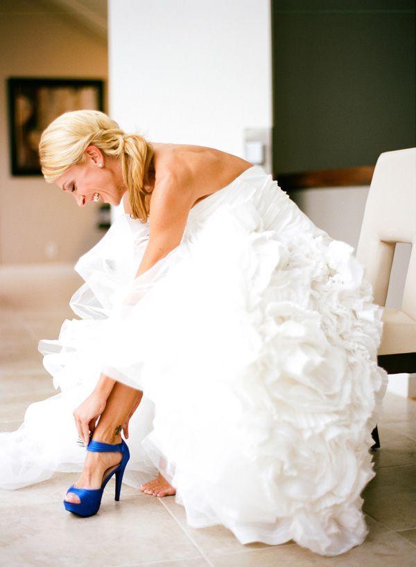 Something Blue On Your Wedding Shoe Crazyforus