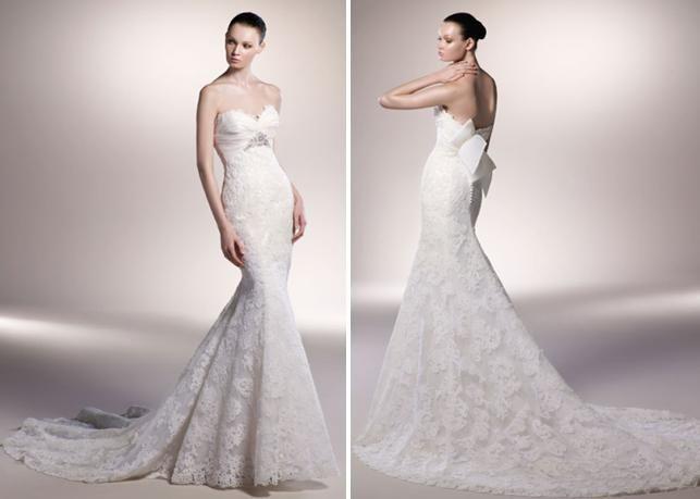 Spring 2010 Bridal Runway: Enzoani Wedding Dresses