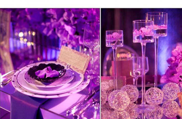 Beautiful Purple Decoration Ideas Pictures For Wedding. SaveEnlarge & Wedding Table Decoration Ideas Purple - Elitflat