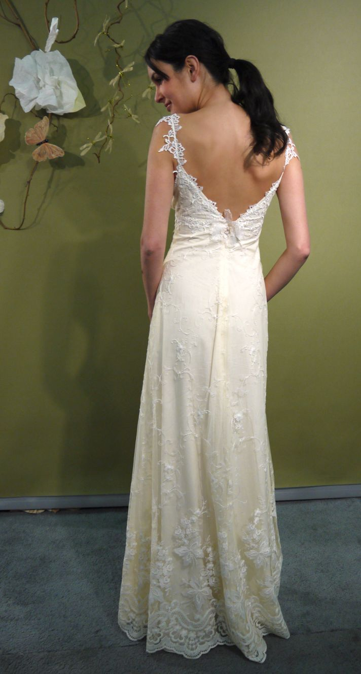 Fall 2011 Claire Pettibone Wedding Dresses Bohemian Romance  OneWed