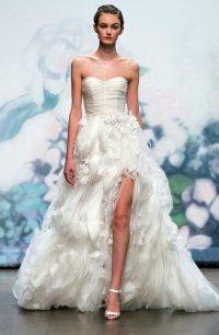 Daring 2012 Wedding DressesShow a Little Leg