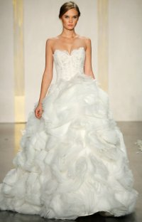 Favorite Ballgown Wedding Dresses of 2012