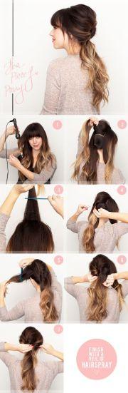5 diy hairstyles perfect pre-wedding