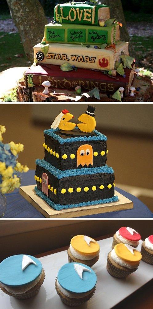10 GeekChic Grooms Cakes