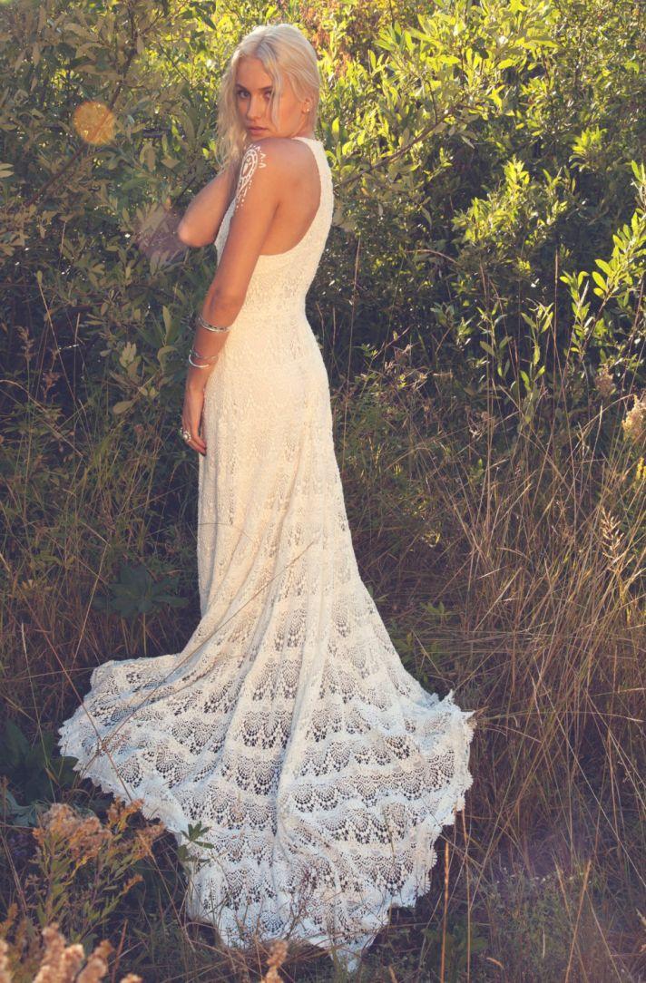 The Crocheted Wedding Dress