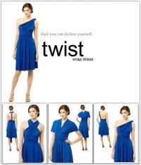 Convertible, Versatile Bridesmaids' Dresses | OneWed