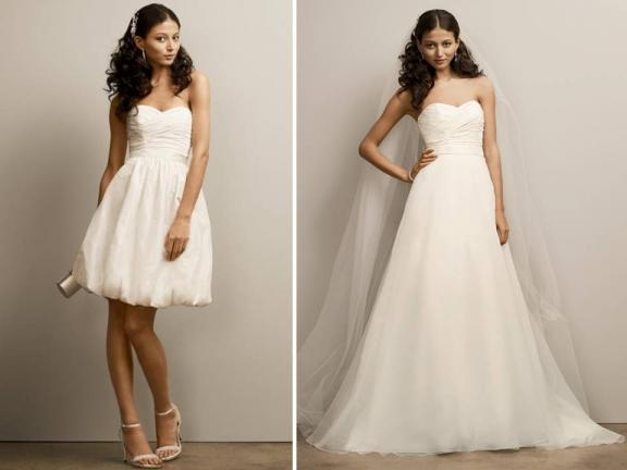 Convertible Wedding Dresses   My Wedding Bag