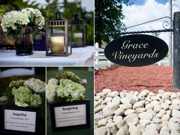 Real Vineyard Wedding Decorations