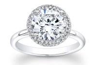 Unique Engagement Rings Halo Setting Handmade Weddings on ...