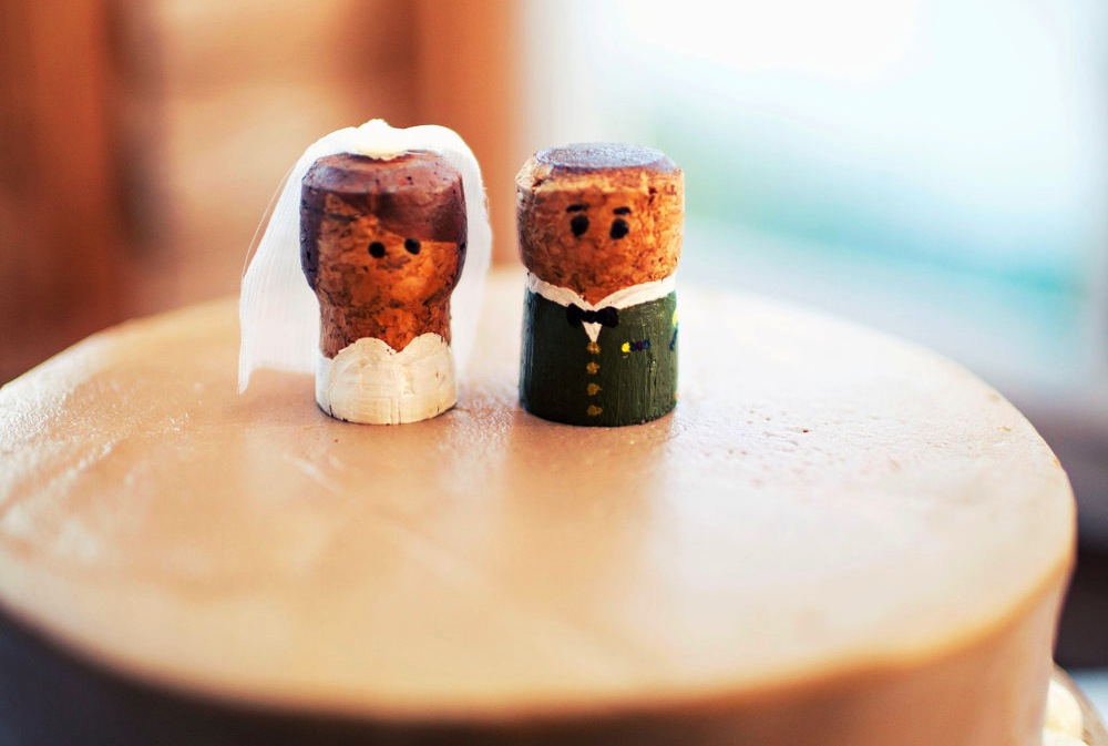 Handmade Wedding Finds For Unique Weddings Cork Cute Cake
