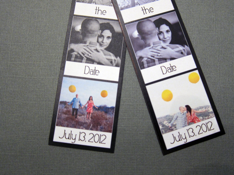 Magnet Wedding Save Date Vintage