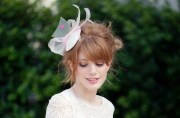 pink and ivory party hat wedding