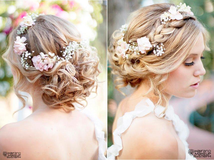 Braided Wedding Hairstyle Bridal Beauty Full Black Kids