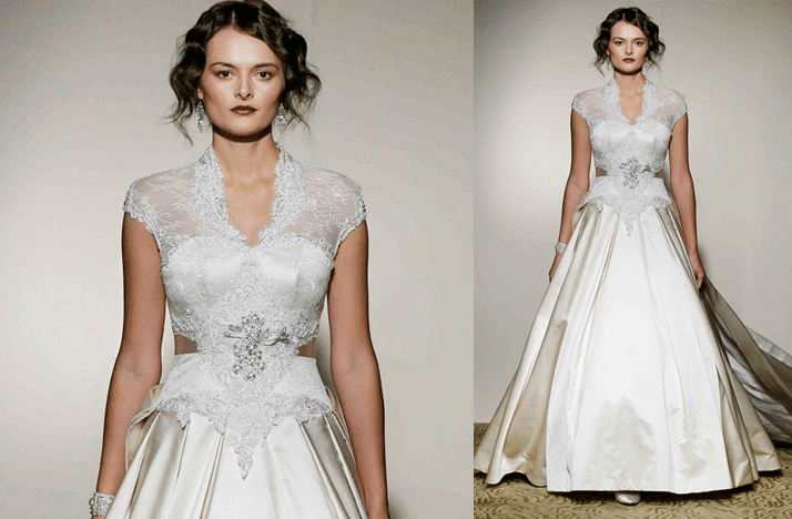Cap Sleeves Wedding Dresses, 2012- St. Pucchi, Kate
