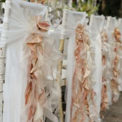 Chair Covers Rose Gold Ergonomic Design Guidelines Ruffly Wedding