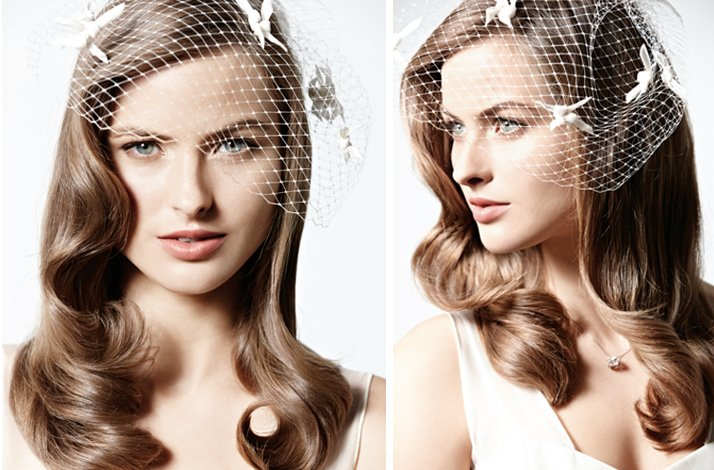vintage-inspired wedding hairstyle