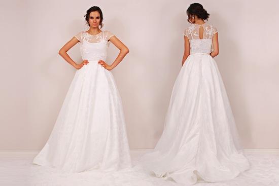 Two Piece Wedding Dress On OneWed