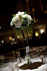 elegant wedding flowers reception table centerpieces high ...