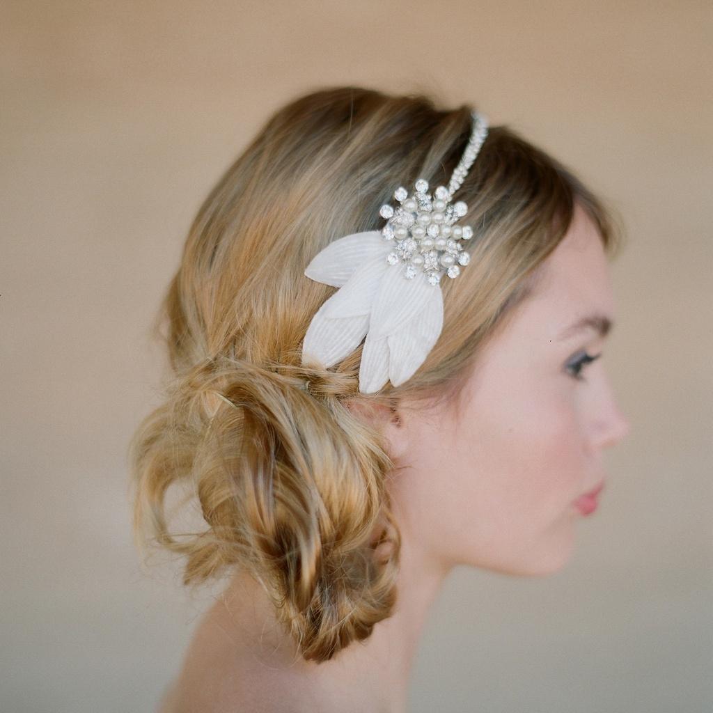 wedding hairstyles headband wedding's