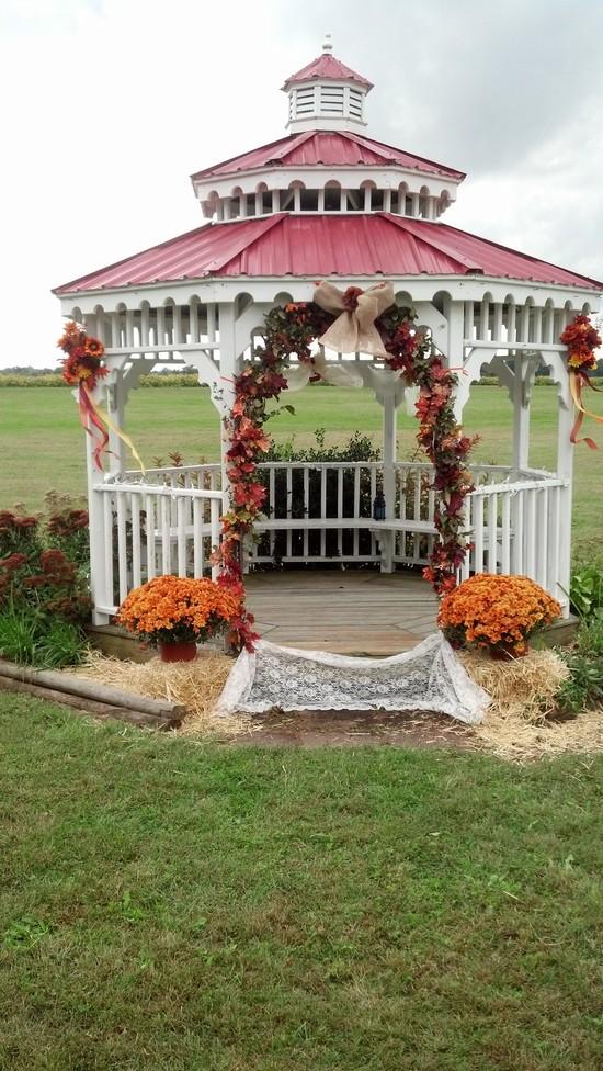 Fall Rustic Wedding Decor