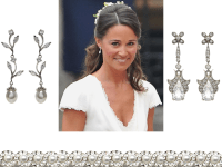 Pippa Middleton-inspired wedding earrings from Tejani ...