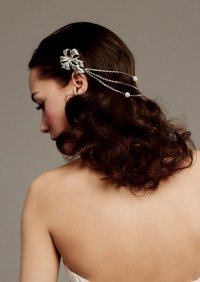 hair jewels wedding wedding hairstyles with jewels best ...
