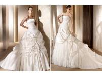 Ball gown wedding dresses from 2011 Pronovias collection ...