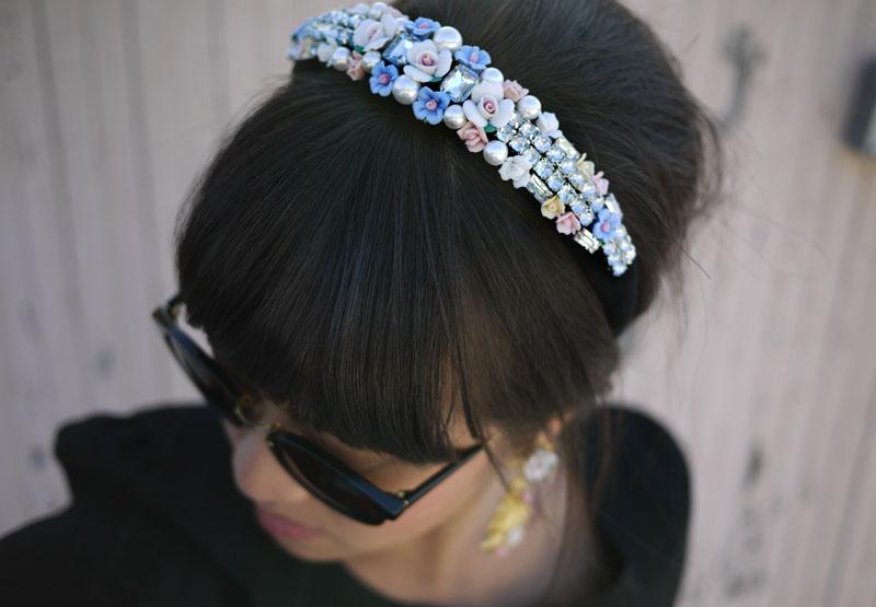 dolce gabbana inspired bridal tiara