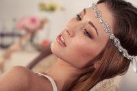 bohemian bride wedding hair accessories bridal head wrap ...
