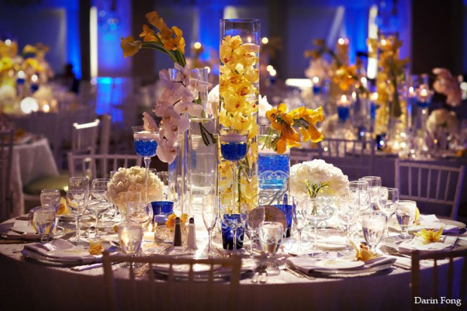 Wedding Color Palettes Bridal Inspiration From Real Weddings Cobalt Blue Lemon Yellow Reception Deco
