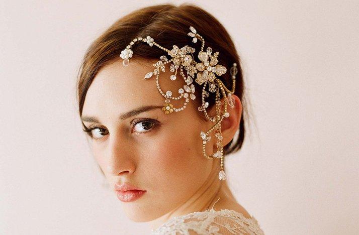 Bridal Hair Accessories With Veil