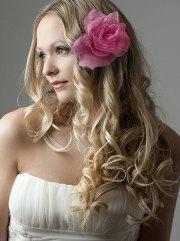 wedding hair loose waves