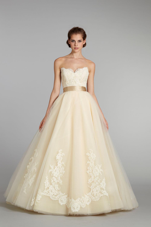 Fall 2012 Wedding Dress Lazaro Bridal Gowns 3251 Pale